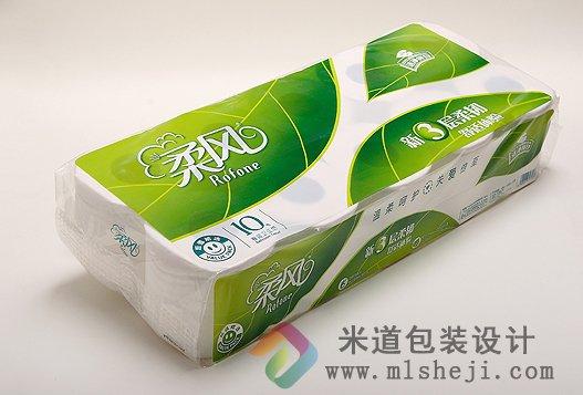 柔风 卫生纸包装设计图片