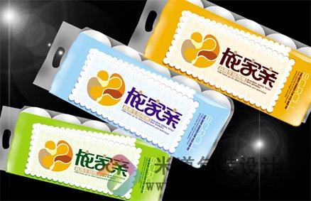南风 卫生纸包装设计图片