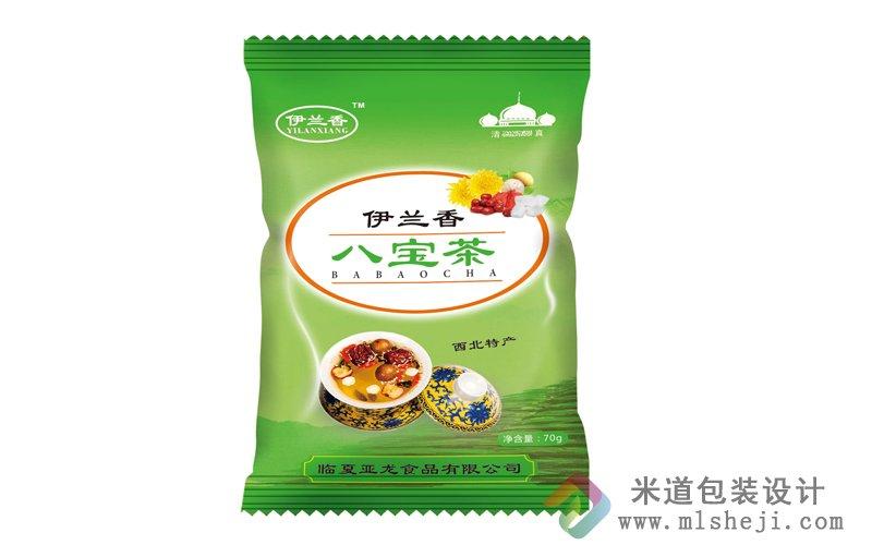 塑料包装 八宝茶塑料包装设计