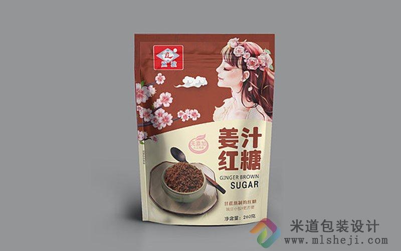 姜汁红糖包装设计