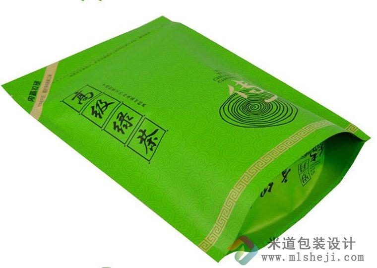 高级绿茶包装袋定制