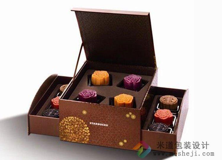 高档月饼盒包装设计